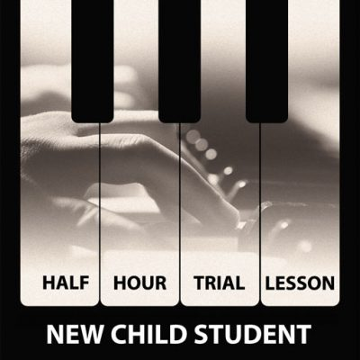 half hour child trial piano lesson Earls Court Sokol Piano Academy