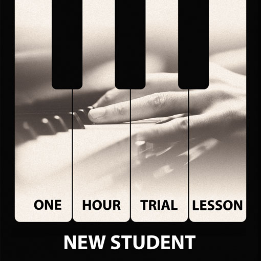 Trial piano lesson London