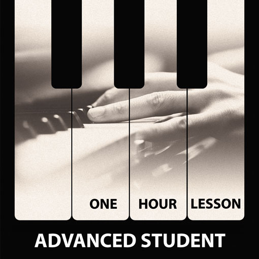 Trial Piano Lesson in London Advanced Student
