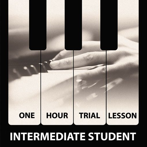 Trial Piano Lesson in London New Intermediate Student